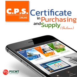 Certificate in Purchasing and Supply (Online)